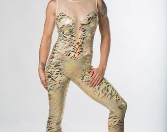 Performance Unitard for aerial trapeze, lyra, silks, acro, circus, dance