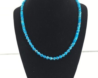 Turquoise & Opal Beaded Necklace - E187