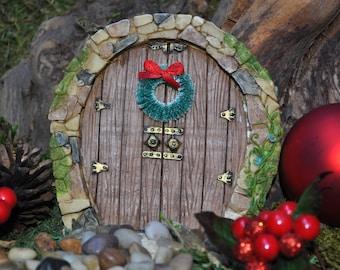 Christmas Wreath for Fairy Door