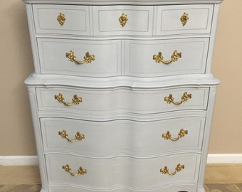 SOLD - Highboy Dresser - Chest