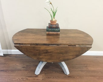 SOLD - Drop Leaf Coffee Table