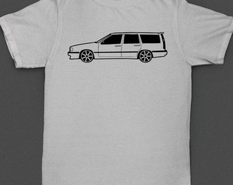Volvo 850R Wagon Shirt with Volan Rims