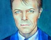 Giclee, David Bowie , 8x10in, А4, medium PRINT