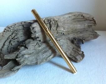 Vintage Gold Plated Ballpoint Pen Pierre d'ECH Switzerland PdE