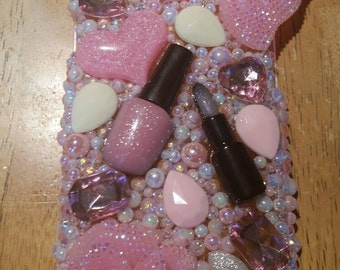 Handmade pink phone case