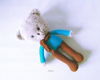 Pupi Bear, Bear amigurumi, bear crochet, handmade bear, bear amigurumi