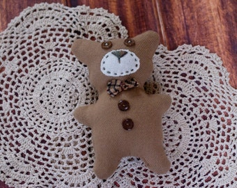RTS! Stuffy Teddy Bear, Newborn, Bear, Stuffies, Neutral, Earthy, Organic, Photo Prop