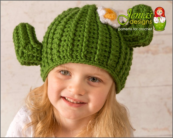 Reserved For Ashlee Crochet Cactus Hat Crochet Saguaro