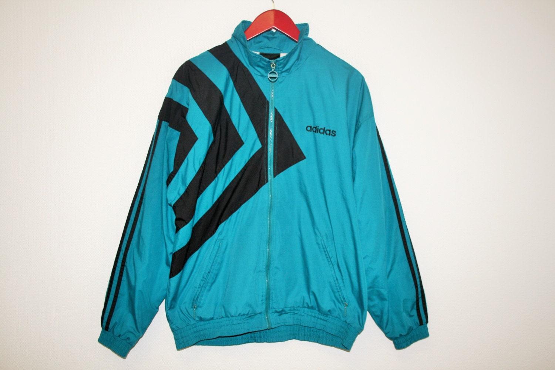 adidas windbreaker jacket track jacket zip up retro 90s. Black Bedroom Furniture Sets. Home Design Ideas