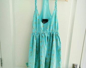 Halter-neck Dress