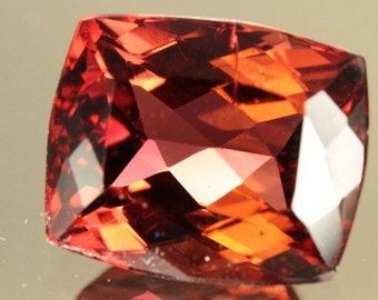 6.33 Ct TOURMALINE- Medium- Dark PURPLISH RED!