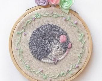 Embroidery Art Hoop Art Illustration