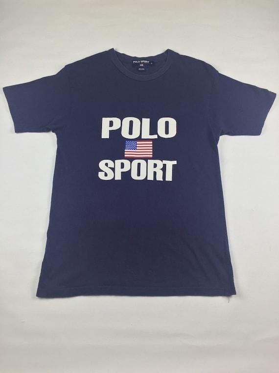 vintage polo sport ralph lauren t shirt mens by. Black Bedroom Furniture Sets. Home Design Ideas