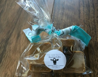HAZELNUT COFFEE 100% Soy Wax Tart, Soy Wax Melt // The Cow Patty