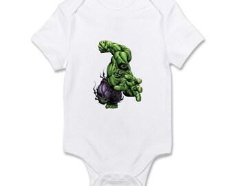 Hulk Onesie Etsy