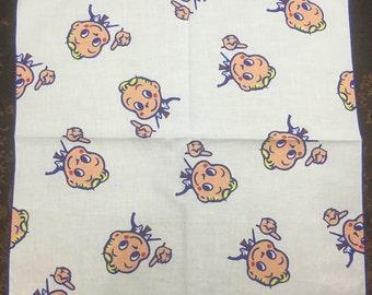 Vintage child's Handkerchief Osamu Harada