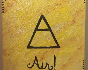 Air Elemental Original Painting
