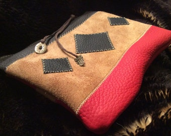Kit pouch leather