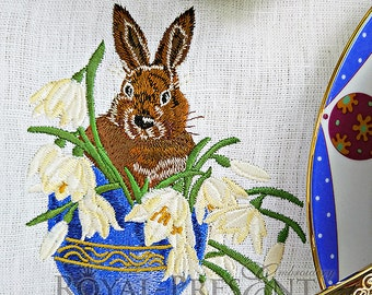Machine Embroidery Design - A Happy Easter