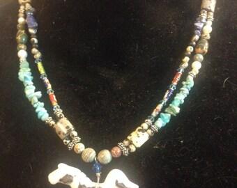 Paint Horse Pendant Necklace