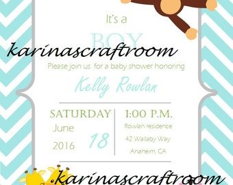 Baby Shower Invitations, Baby Shower Invites, Invitaciones de Baby Shower, Baby Shower Announcements, Welcome Baby Invitations