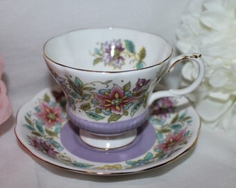 Royal Albert bone china england jacobean
