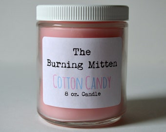 Cotton Candy 8 oz. Candle