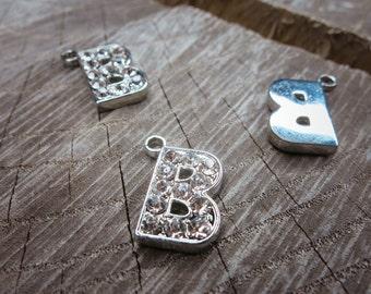 Letter B Pendant Charms ~1 pieces #100590