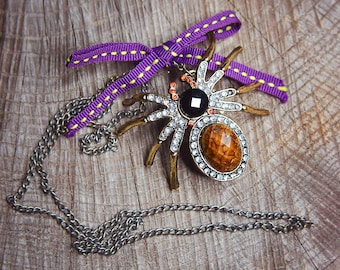 Spider Necklace ~1 pieces #100440