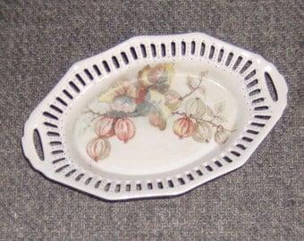 Bavaria Schumann 1960 Vintage Openwork Dish