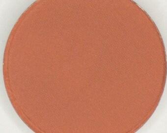 Sunset, 26 mm Pressed Matte Eyeshadow, Red Orange Matte Eyeshadow, Mineral Eyeshadow