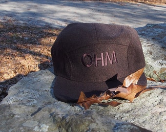 Chocolate Woolery 5Panel Hat