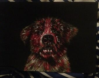 Cujo Horror Print