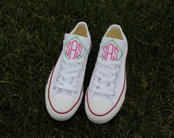Monogrammed Converse ~ Monogrammed Chucks ~ Spring shoes!!!