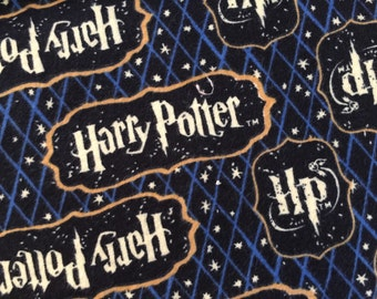Personalized Harry Potter HP and Minky Baby Blanket