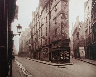 Eugene Atget photo, Un Coin, Rue-de-Seine, 1924