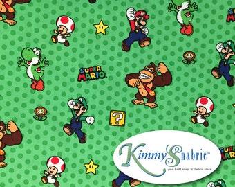 Nintendo Super Mario Cotton Woven