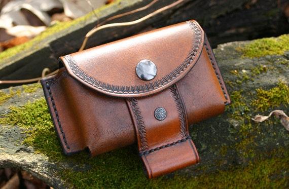 leather belt pouch altoids tin pouch bushcraft pouch