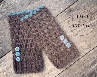 Easy crochet pattern, crochet pattern, fingerless gloves, crochet gloves pattern, fingerless mittens, gift for her, LOLA FINGERLESS GLOVES
