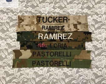 Military Nametapes