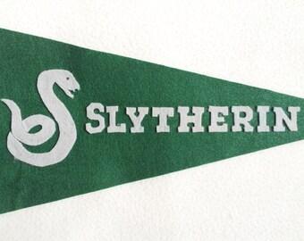 Slytherin House Pennant