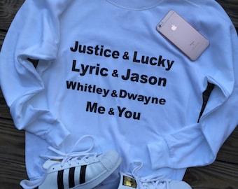 90's Couple Goals sweatshirt