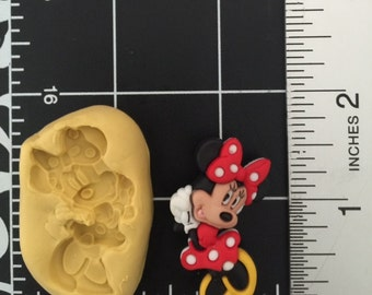 Minnie mouse fondant ...silicone mold