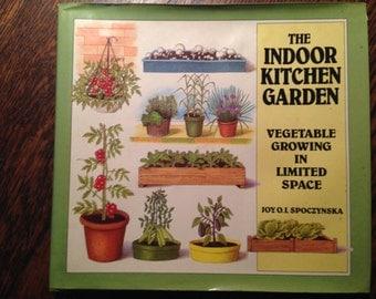 The INDOOR Kitchen GARDEN.  Veggies in limited space.