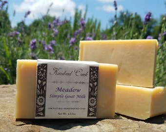 Simple Goat Milk Soap