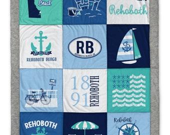 Rehoboth Beach (1) Destination Blanket