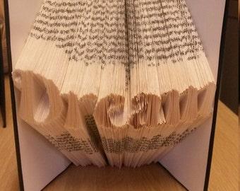 Dream ... Folded Book Art
