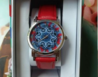 Ladies Watch, Watch, Abstract Design Watch, Wrist Watch