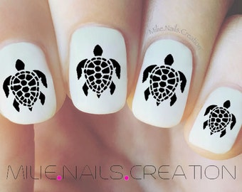 Turtle Nail Decal