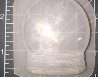 Snowglobe mold - flexible plastic resin mold